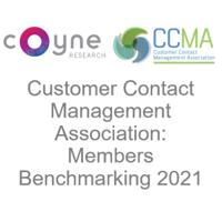 CCMA Benchmarking Study 2021