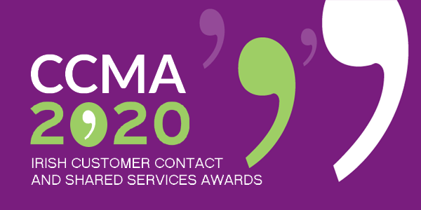 CCMA Irish Customer Contact & Shared Services Awards Ceremony 2020